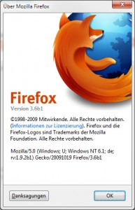 Firefox 3.6 Beta 1