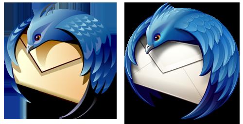 Logo Vergleich Version 2.0 (links) mit Version 3 (rechts)