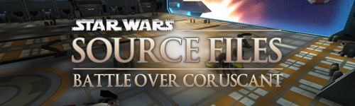 Battle over Coruscant - Source