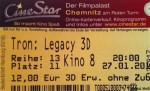 Kinokarte Tron: Legacy