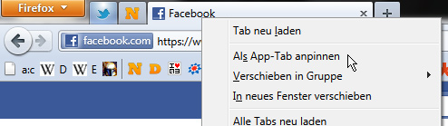 App-Tabs, Tabs On Top
