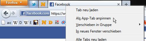 App-Tabs, Tabs On Top