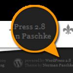WordPress 2.8 ist da! - Norman's Blog